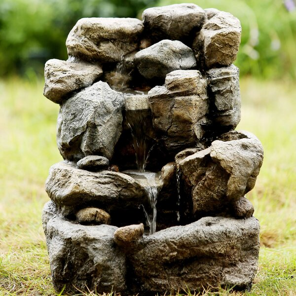 Small Rock Water Fountain by Jeco Inc.