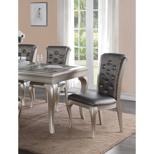 Adele Side Chair (Set of 2) by Infini Furnishings