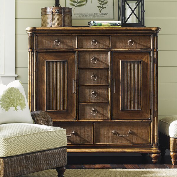 Bali Hai 9 Drawer Combo Dresser by Tommy Bahama Home