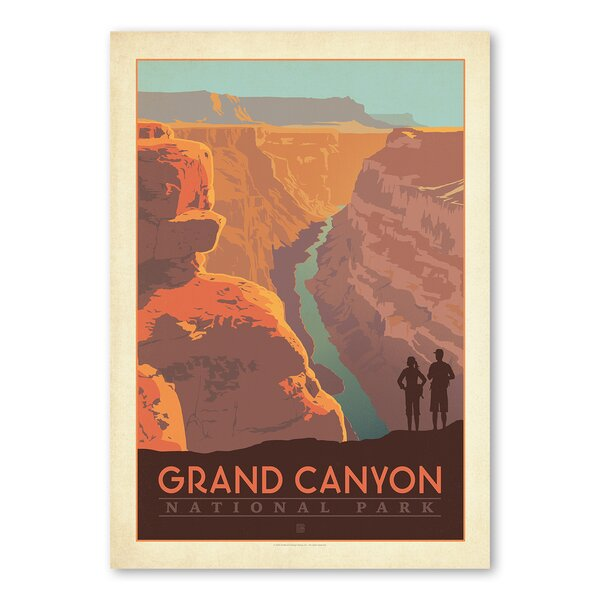 Grand Canyon Arizona Vintage Advertisement by East Urban Home