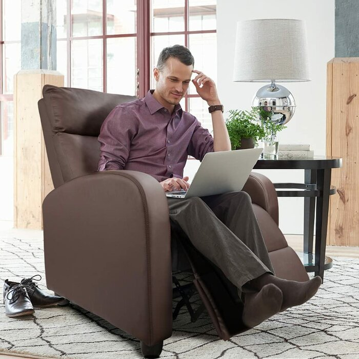 Udall Faux Leather Recliner