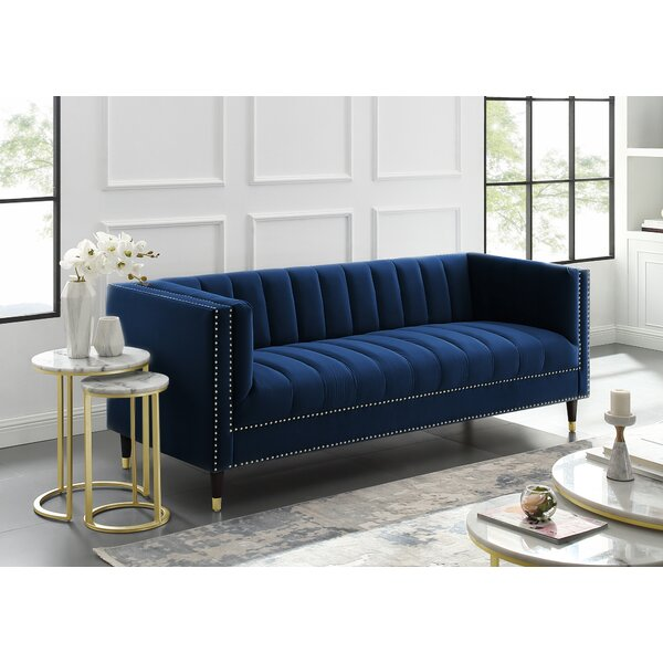 Nice Chic Bahara Sofa by Nicole Miller by Nicole Miller