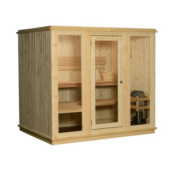 Bridgeport 6 Person Traditional Steam Sauna by Almost Heaven Saunas LLC