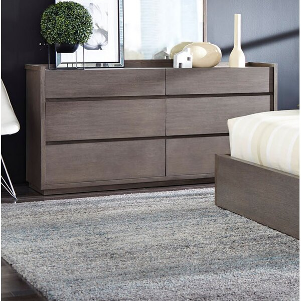 Keomi 6 Drawer Double Dresser by Brayden Studio