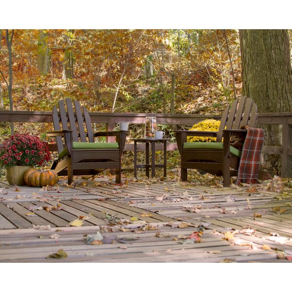 Classic Adirondack 3-Piece Seating Group by POLYWOOD®