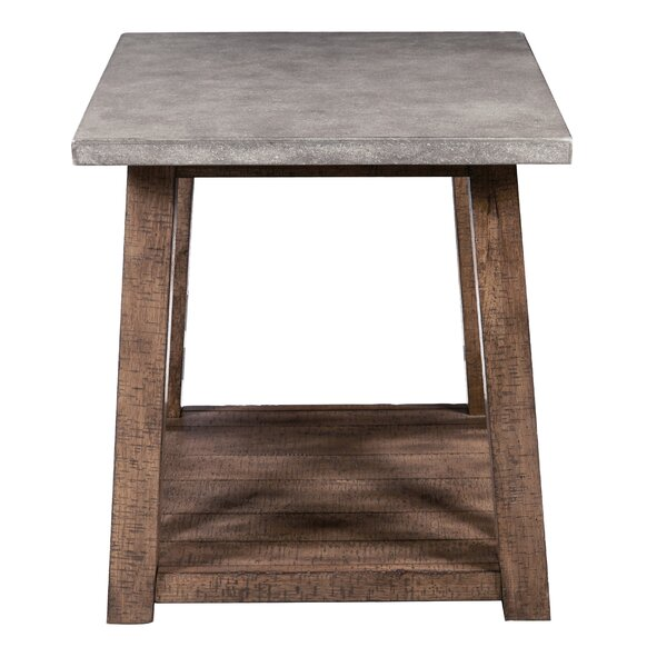 Ayers End Table with Storage by Foundry Select