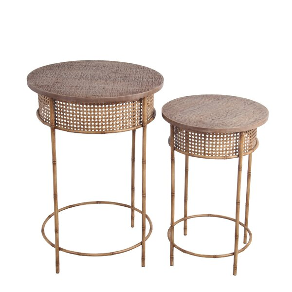 Gothenburg 2 Piece End Table Set By Bay Isle Home
