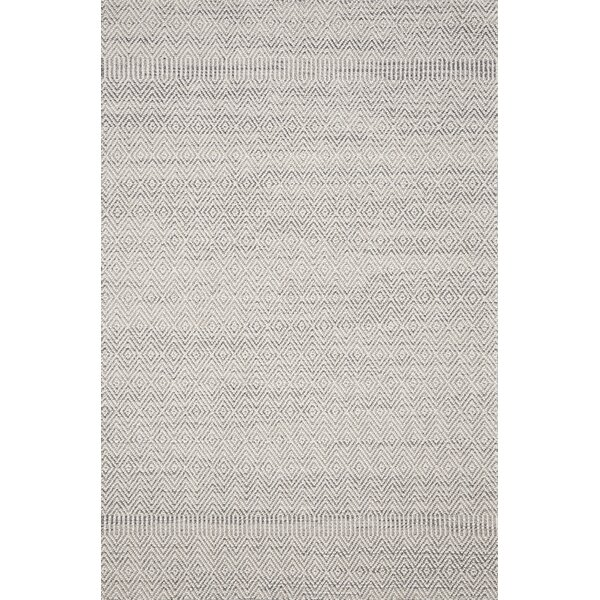 Hauge Geometric Gray / Bone Indoor / Outdoor Area Rug