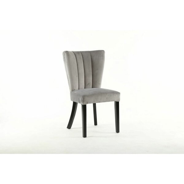 Vermehr Upholstered Dining Chair (Set of 2) by Rosdorf Park