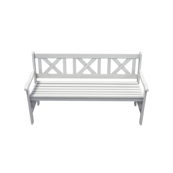Helmsley 3-Seater Foldable Wooden Garden Bench by Gracie Oaks