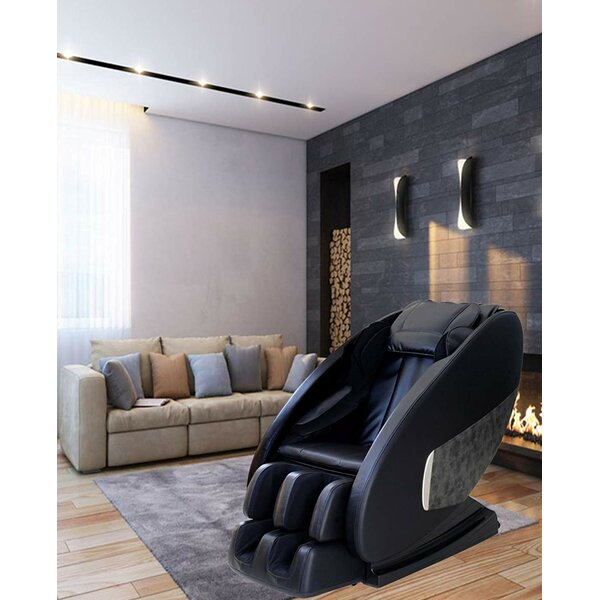 Q7 Reclining Adjustable Width Heated Full Body Massage Chair By Latitude Run