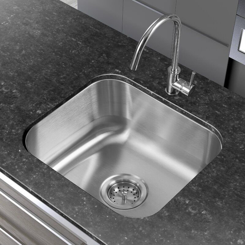 Winpro 18 x 16 single basin undermount kitchen sink reviews 18 x 16 single basin undermount kitchen sink workwithnaturefo