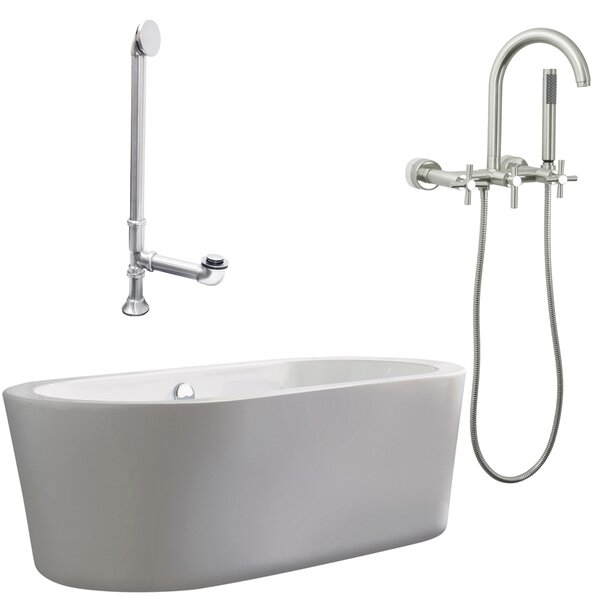 Ventura Soaking Bathtub by Giagni