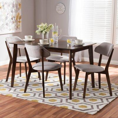 Three Posts Barryknoll 5 Piece Dining Set & Reviews | Wayfair