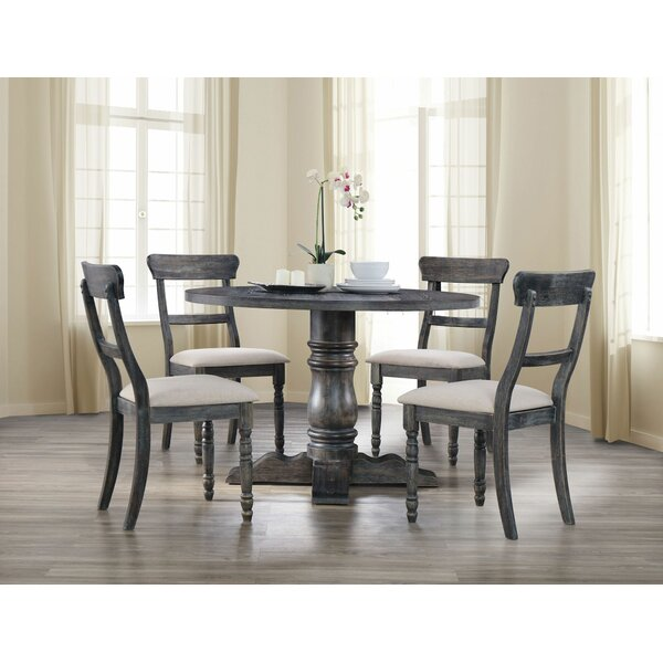 Dendy 5 Pieces Dining Set by Gracie Oaks