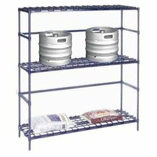 3 Shelf Container Rack by Nexel
