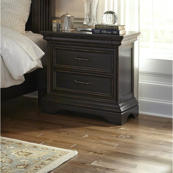 Glencoe 2 Drawer Nightstand by Darby Home Co