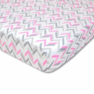Affordable Chevron Fitted Crib Sheet ByWendy Bellissimo