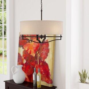 Bargain Hungate 3-Light Drum Chandelier By Three Posts