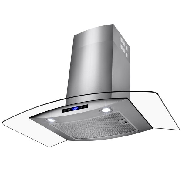 30 400 CFM Ducted Wall Mount Range Hood by AKDY