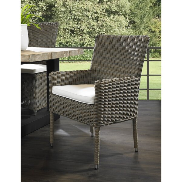 Penn Patio Dining Chair by Rosecliff Heights