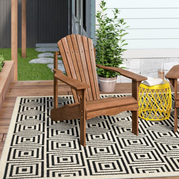 Arianna Solid Wood Adirondack Chair by Langley Street