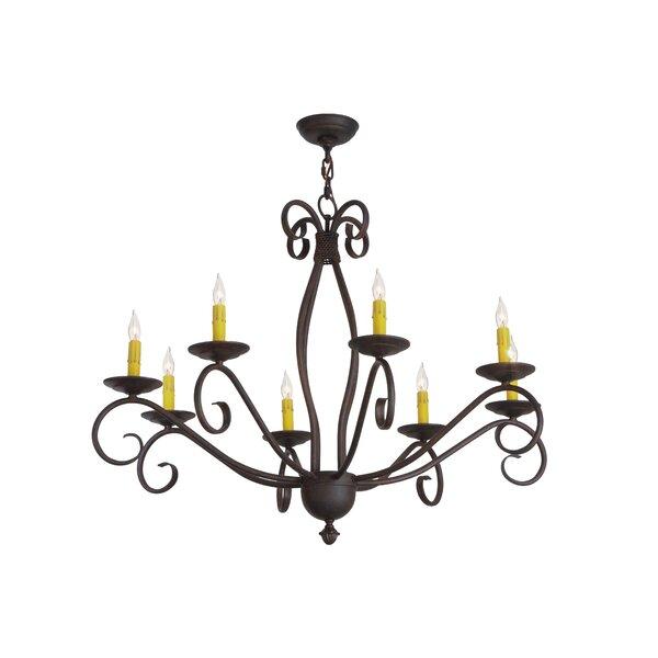 Niels 8 - Light Candle Style Chandelier by Fleur De Lis Living Fleur De Lis Living