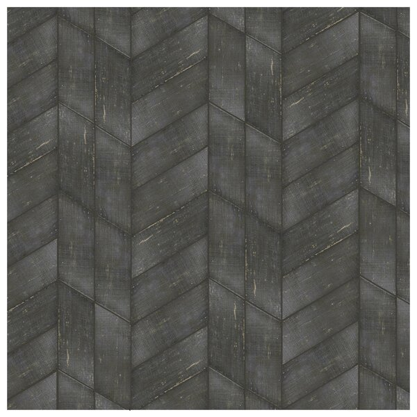 Rama 7.13 x 16.68 Porcelain Wood Look Tile in Negre by EliteTile