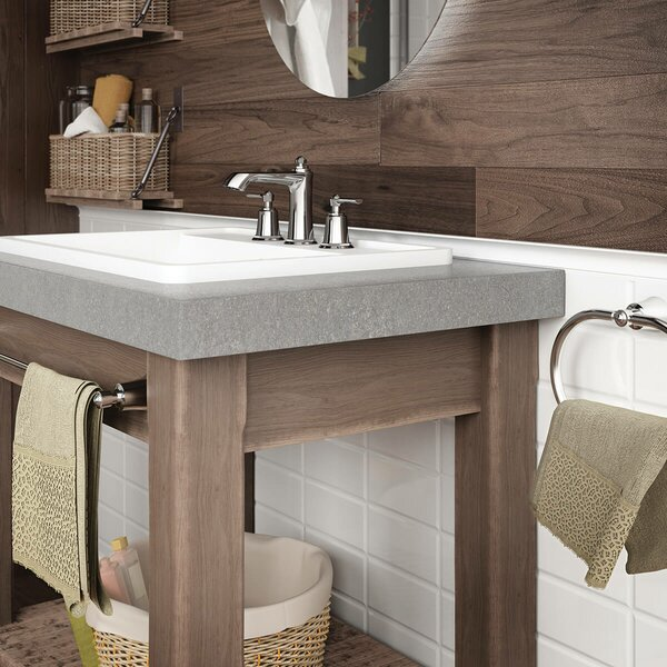 Rustik Widespread Bathroom Faucet With Drain Assembly By Kalia