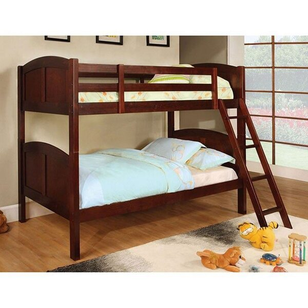 Schlesinger Twin over Twin Bunk Bed by Harriet Bee