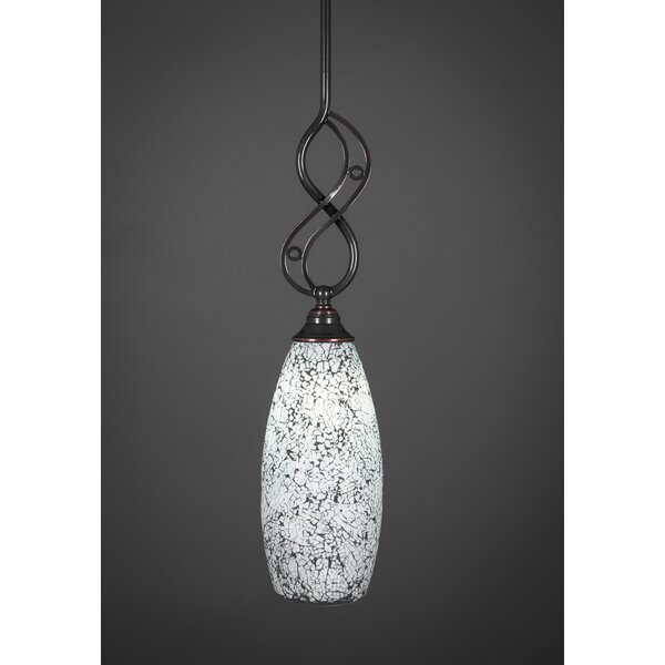 Thomason 1-Light Mini Pendant by Fleur De Lis Living