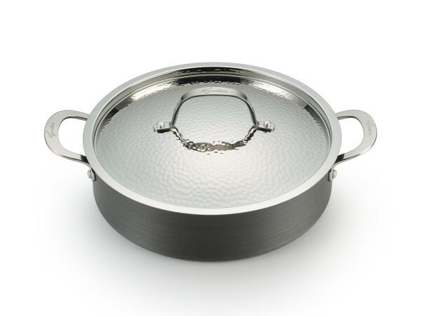 Nera Casserole 16 Non-Stick Skillet with Lid by Lagostina