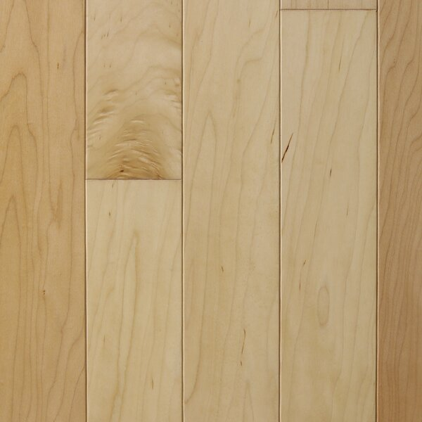Madrid 5 Engineered Maple Hardwood Flooring in Natural by Branton Flooring Collection