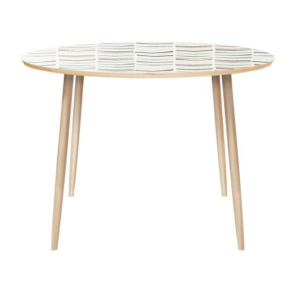 Lissette Dining Table by Brayden Studio