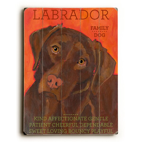 Labrador Graphic Art by Artehouse LLC