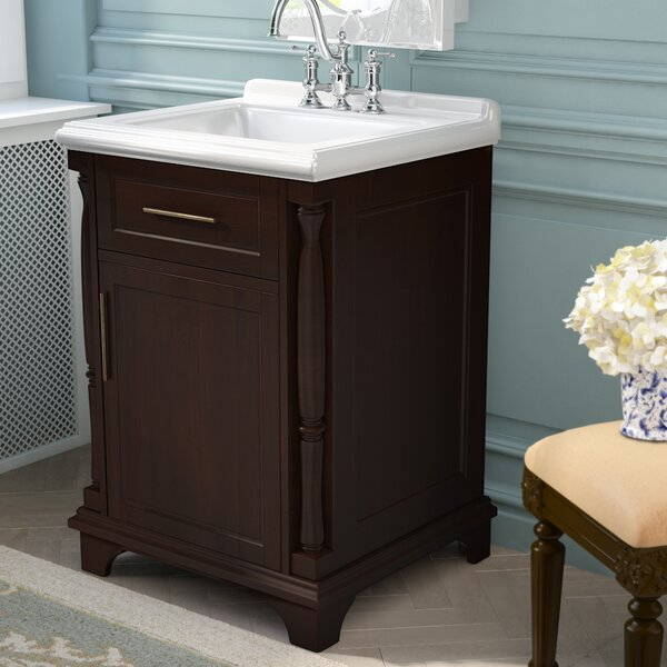 @ Harvard 24 Single Bathroom Vanity Set by Three Posts| #$0.00!