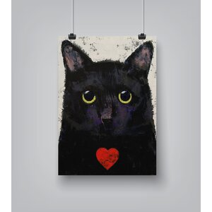 'Love Cat' Print by East Urban Home