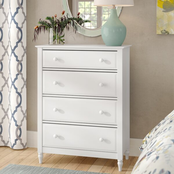 Gaillarde 4 Drawer Standard Chest by Winston Porter