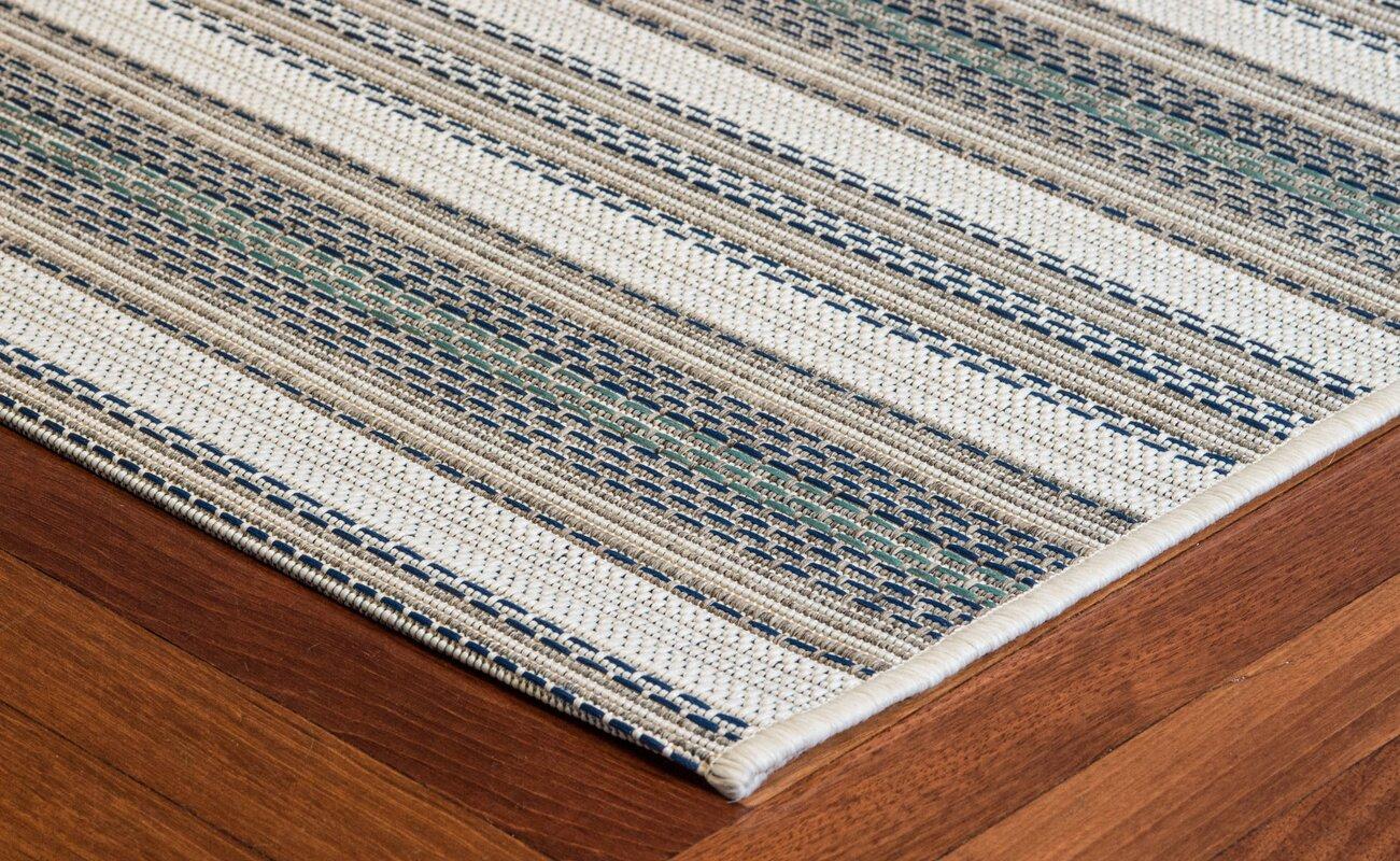 Wexford marbella blue indoor outdoor area rug reviews for Blue indoor outdoor rug