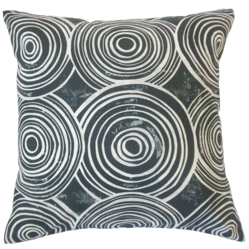 The Pillow Collection Indoor Use Only 100% Cotton Pillow Cover & Insert