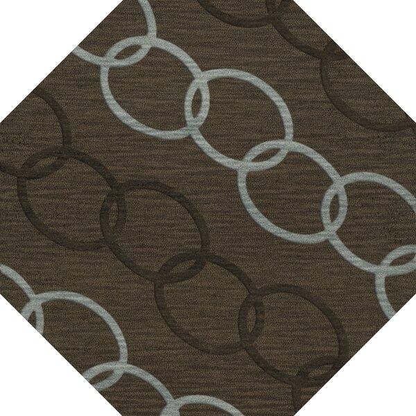 Bella Machine Woven Wool Brown Area Rug by Dalyn Rug Co.