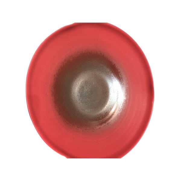 Abstract Ceramic Decorative Platter by Brayden Studio