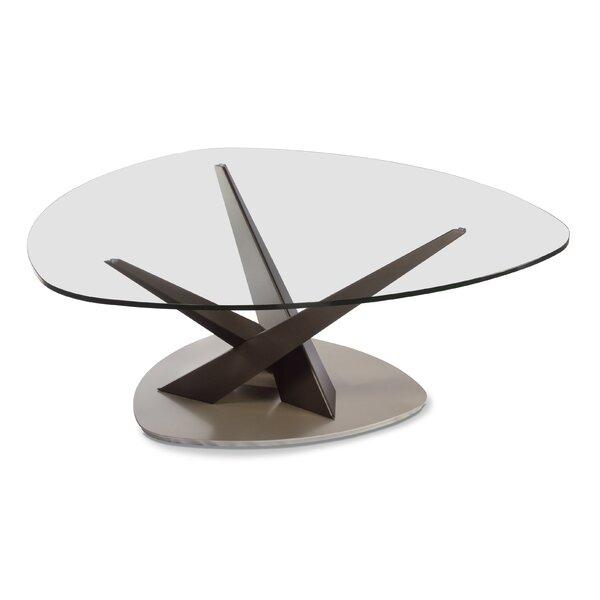Crystal Coffee Table by Elite Modern