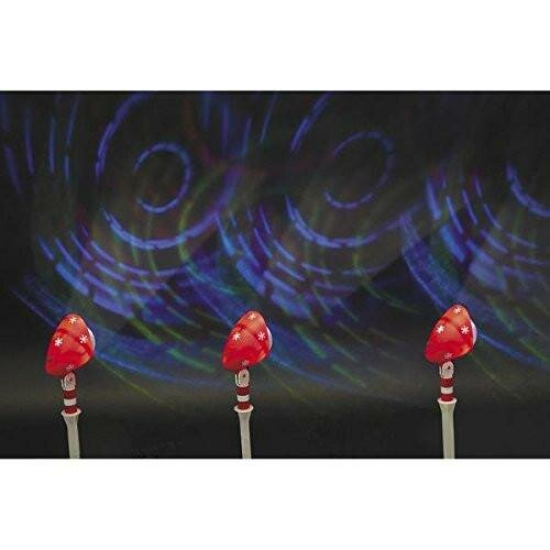 Let it Snow LED Projector Light (Set of 3) by The Holiday Aisle