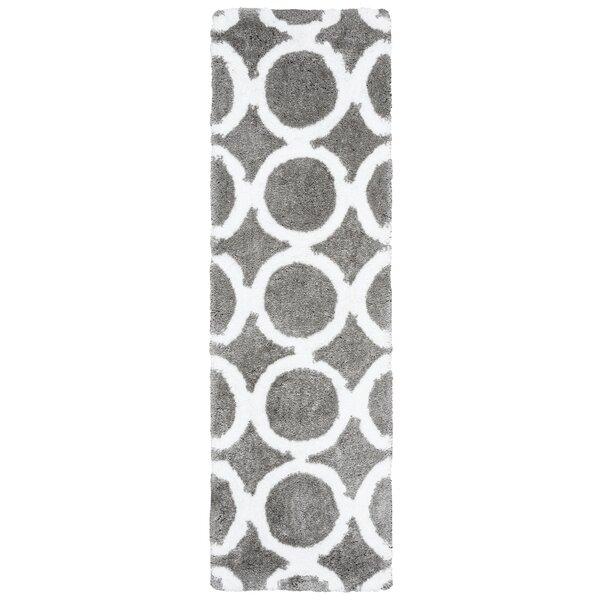 Mckinney Hand-Tufted Gray Area Rug by Latitude Run