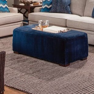 Campos Cocktail Ottoman by Braxton Culler