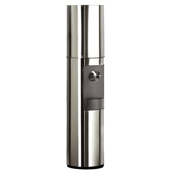 S2 Stainless Steel Free-Standing Room Temperature and Cold Electric Water Cooler by Aquaverve Water Coolers