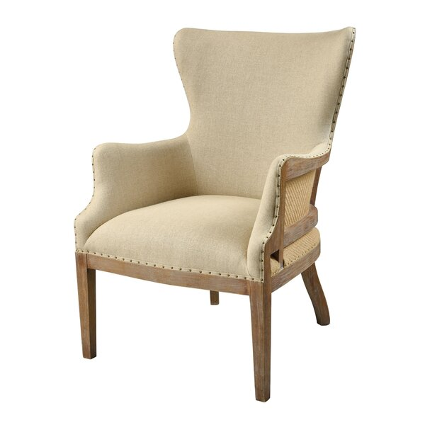 Helaman Wingback Chair by Gracie Oaks
