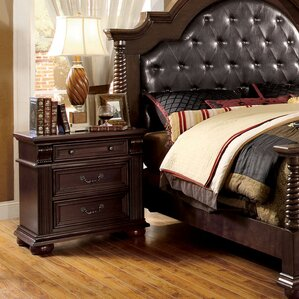 Branson Pendennis 3 Drawer Nightstand by Astoria Grand