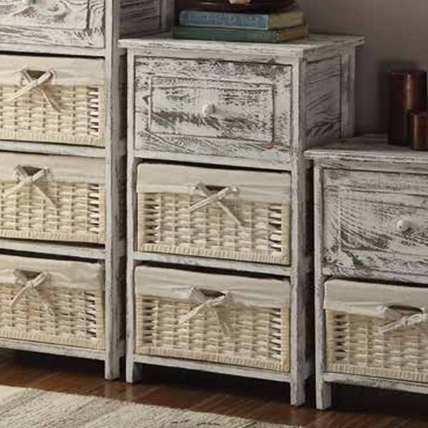 Cottage Home 1 Drawer Nightstand by Anthony California